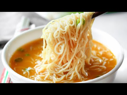 Healthy Ramen Soup Recipe |  How To Make Low Calorie and Low Carb Ramen Soup