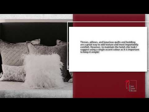 HOW TO CREATE A BOUTIQUE HOTEL LOOK BEDROOM AT HOME