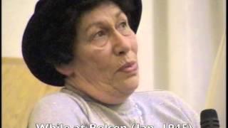 Hannah Pick Goslar (2002) on Anne Frank
