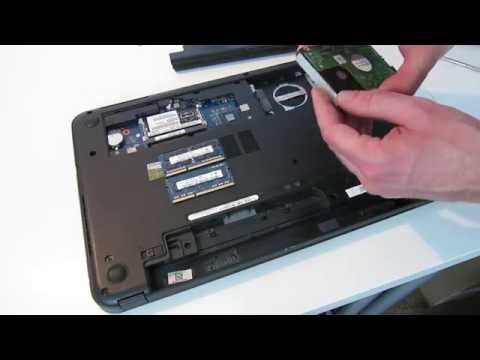 Dell Inspiron 15-3521 Hard Drive and Memory Replacement Guide