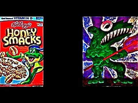 KELLOGGS HONEY SMACKS BOWLFRAUD  EXPOSED!  Dig 'Em, The FrogWhOrN ConCroaker, d'GogHopper.