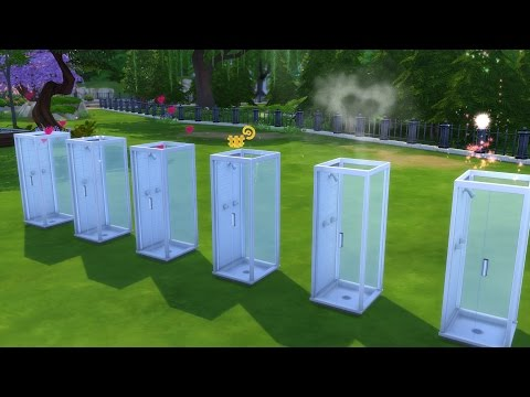 The Sims 4: Official Shower WooHoo VFX