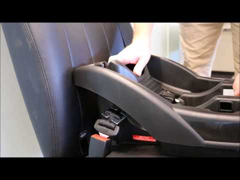 Locking Clip Installation: Infant Car Seat Base