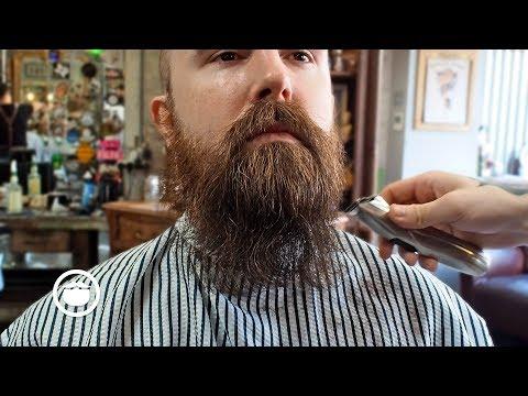 How to Shape Thin Beard with a Trim
