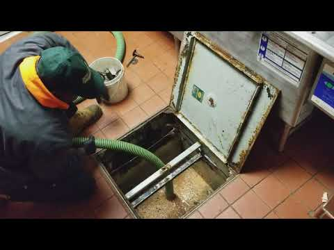 grease trap cleaning, service