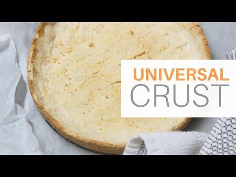 KETO Pie   Quiche Crust ***FLAKY CRUST *** NUT FREE  GFCF   LCHF  PALEO