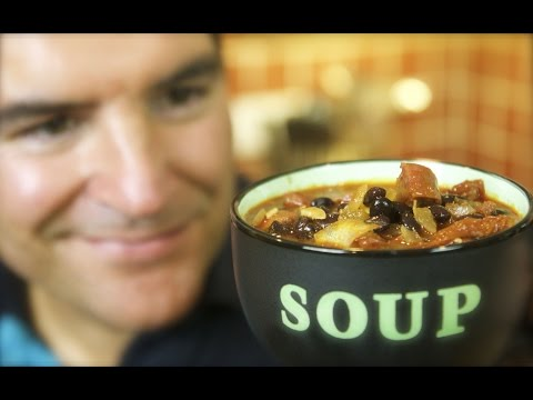 Beer & Black Bean Soup: Heavy on taste, easy on effort   Totally Sacha
