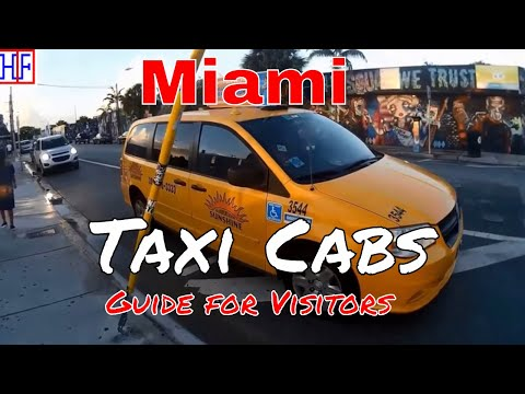 Miami | Taxi Cabs Guide - Getting Around | Travel Guide | Episode# 3