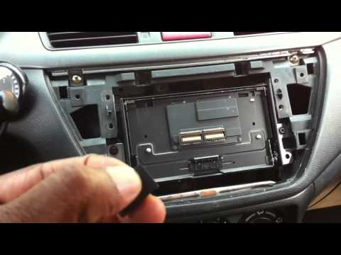 Review of an install double din method in an Evo VIII