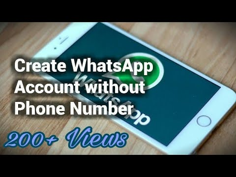 Create WhatsApp Account without phone number || Hindi || USING US NUMBER ||