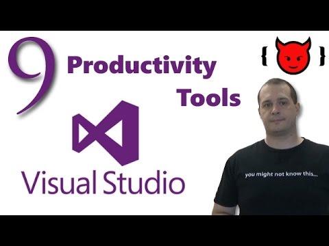 9 Visual Studio Productivity Tools