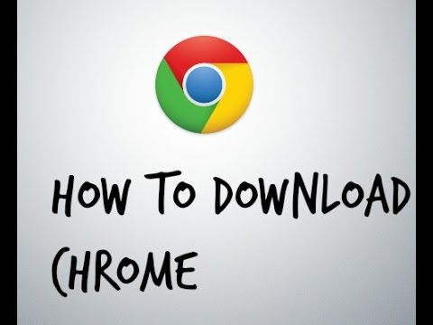 How to: download chrome in (internet explorer)