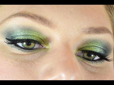 Pretty Green Makeup!