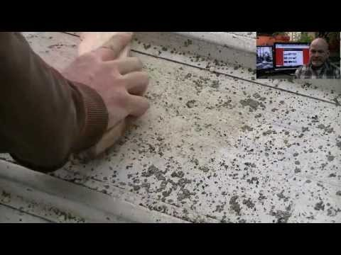DIY: Removing lichen from the hull of an aluminum boat.