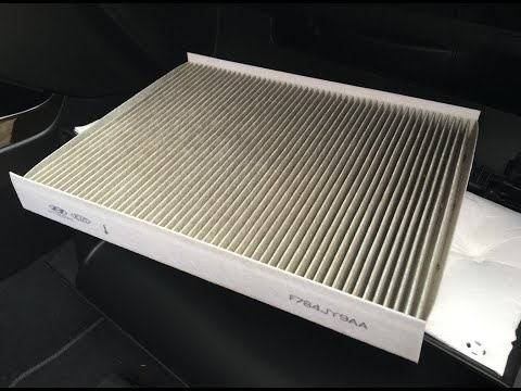 Cabin Air Filter Change F784JY9AA KIA Sorento