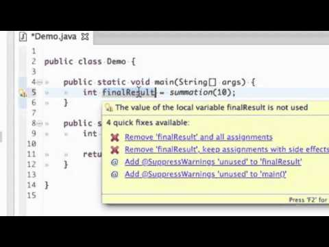 How To: Create a Simple Java Program Using Eclipse