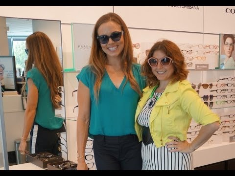 5 Glasses styling tips with Laurie Brucker, Natalie Coughlin and Lenscrafters!
