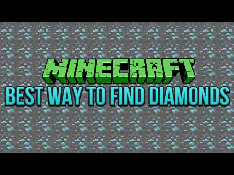 Best Way To Find Diamonds Minecraft 1.9 & 1.8 Tutorial