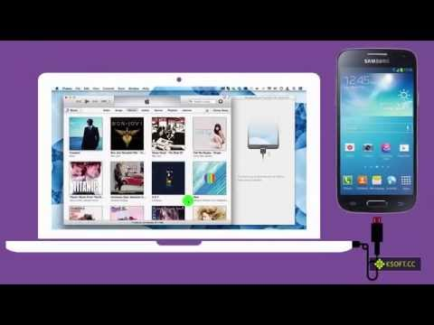 How to Sync Music from iTunes directly to Samsung Galaxy S4 mini?
