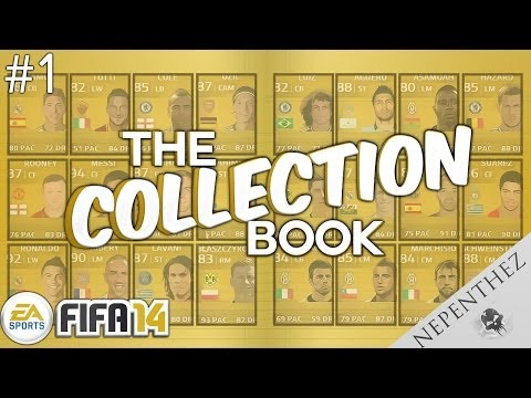 FIFA 14 ULTIMATE TEAM - COLLECTION BOOK #01