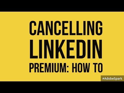 How to cancel your LinkedIn Premium Account
