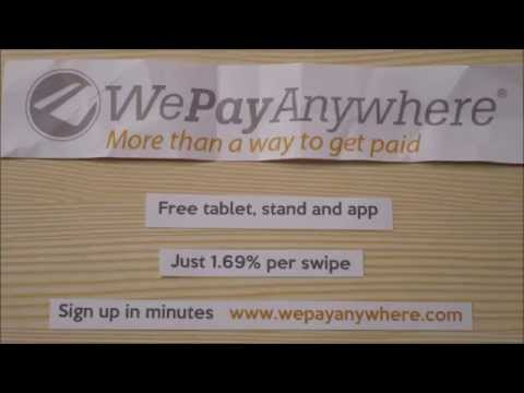 The best way to accept credit cards is with PayAnywhere Storefront
