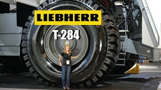Liebherr T-284  (the statistics behind the size)