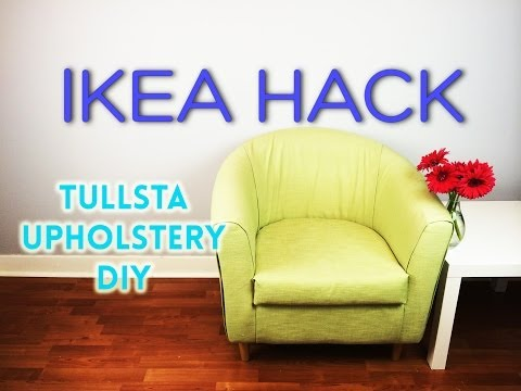 Ikea Hack - DIY Tullsta Upholstery