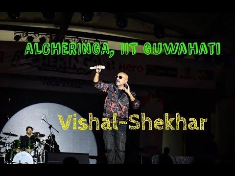Alcheringa 2018 IIT Guwahati | Vishal Shekhar Live Song