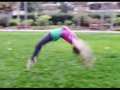 Back Handspring Training For Better Tumbling With Coach Meggin!