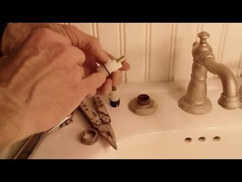 How To Fix A Leaky Delta Two Handle Faucet