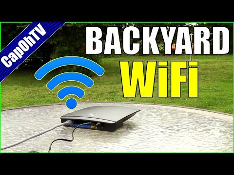 Backyard WiFi Extender: Ugly but Effective!