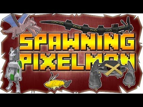 How To Spawn Pokemon, Shiny's, Bosses & Legendary's | Pixelmon Minecraft Mod [2.5.1] [1.6.4]