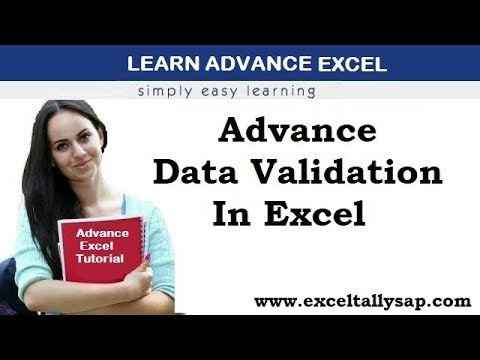 Advance Data Validation in Excel in Hindi