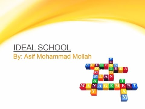 Power Point Presentation on about Ideal School