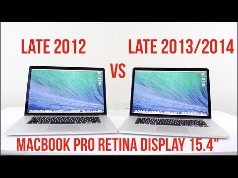 2012 vs 2014 MacBook Pro 15.4