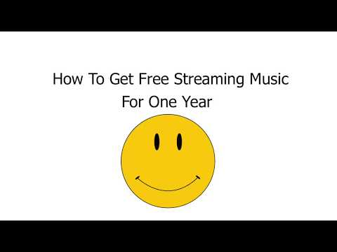 How To Get A Year Of Free Streaming Music