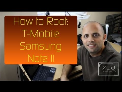 How to Root the Samsung Galaxy Note II
