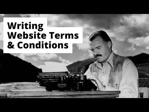 Website Terms and Conditions - Legal123.com.au