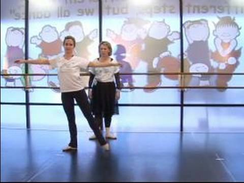 Beginning Ballet Steps : How to Do a Ballet Chasse