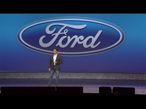 Mark Fields, Ford - Keynote 2015
