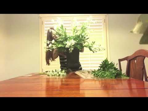 How to make church altar flowers