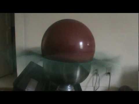 DIY Drill Press Bowling Ball Spinner