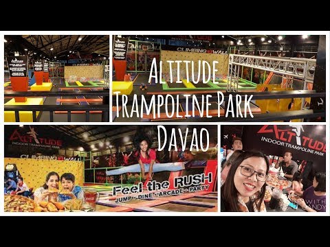 Altitude Trampoline Park Davao Experience - Feature and Review