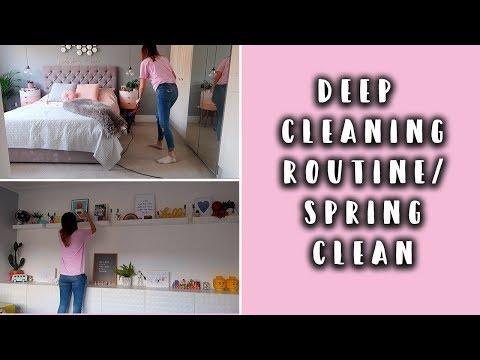 DEEP CLEANING ROUTINE/SPRING CLEAN- FULL SPEED CLEAN #AD