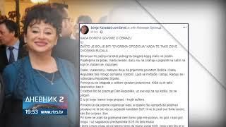 Sonja Karadžic Uzvratila Na Prozivke Nebojše Vukanovica