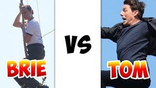 Download Brie Larson stunts vs Tom Cruise Stunts Video