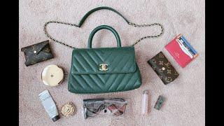 8e25aa5841fa Chanel Coco Handle Mini Review - 容量,上身图,优缺点