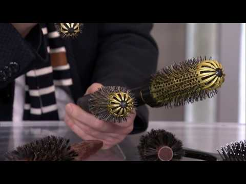 Choosing the right brush for your hair type