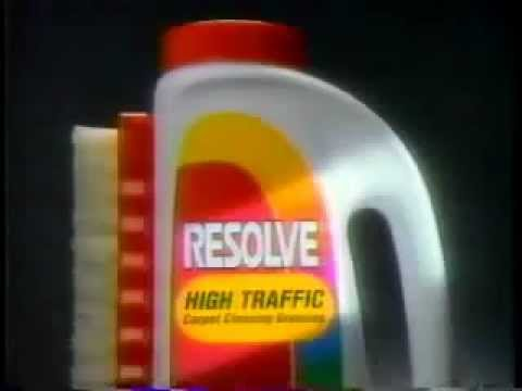 Resolve Carpet Cleaner Commercial from 1993